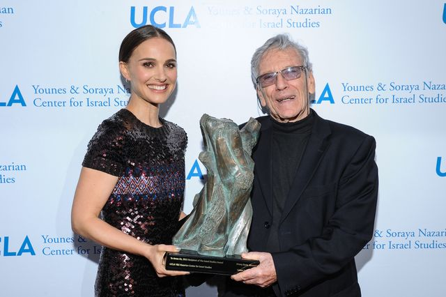 Natalie Portman and Amos Oz
