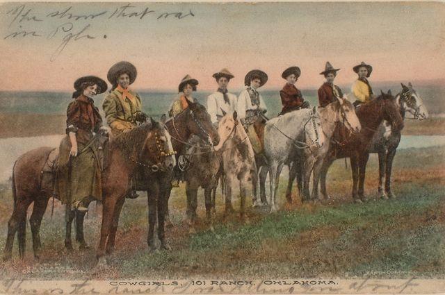Old West postcard