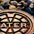 Rusty water sign