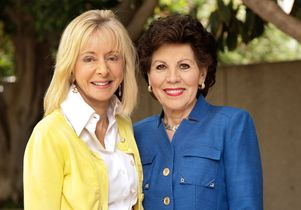 Judy Olian and Marion Anderson