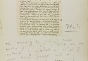Wilde Chatterton journal page