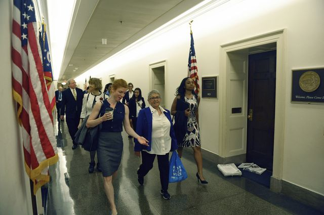 UCLA advocates in halls of Congressional offices