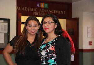 Teresa Contreras and Yesenia Aguilar