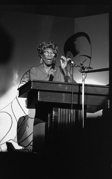 Ella Fitzgerald at UCLA