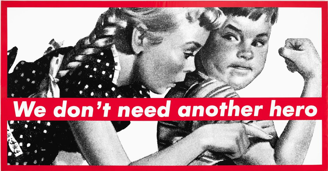 life and work of barbara kruger photography essay Best known for laying aggressively directive slogans over black-and-white photographs that she finds in magazines, barbara kruger developed a visual language that was strongly influenced by her early work as.