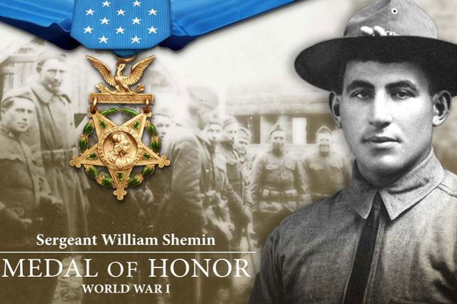 U.S. Army website honoring the late Sergeant William Shemin