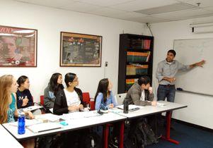 Neil Garg teaching at UCLA