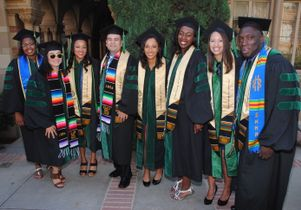 2015 graduates of the David Geffen School of Medicine at UCLA