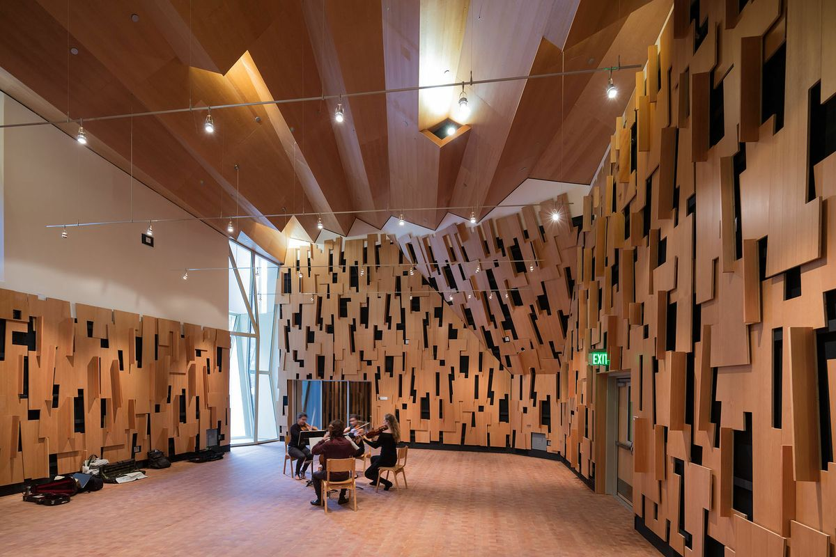 Evelyn and mo ostin music center wins los angeles - Interior design school los angeles ...