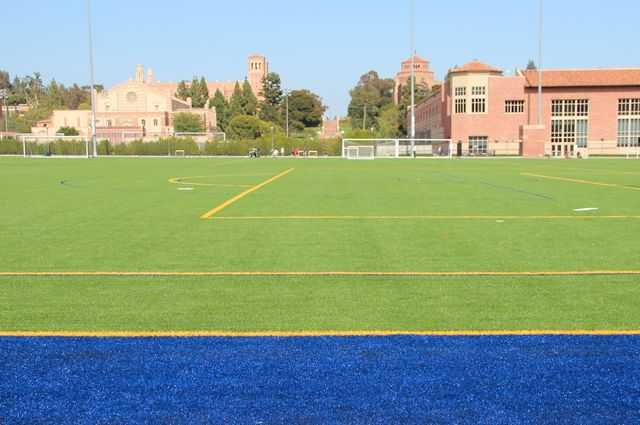 Artificial turf soccer field Astro Turf Im Field Quadcaptureco Ucla Doing Its Part To Save Millions Of Gallons Of Water Per Year Ucla