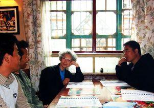 Deborah Cohen in Tibet