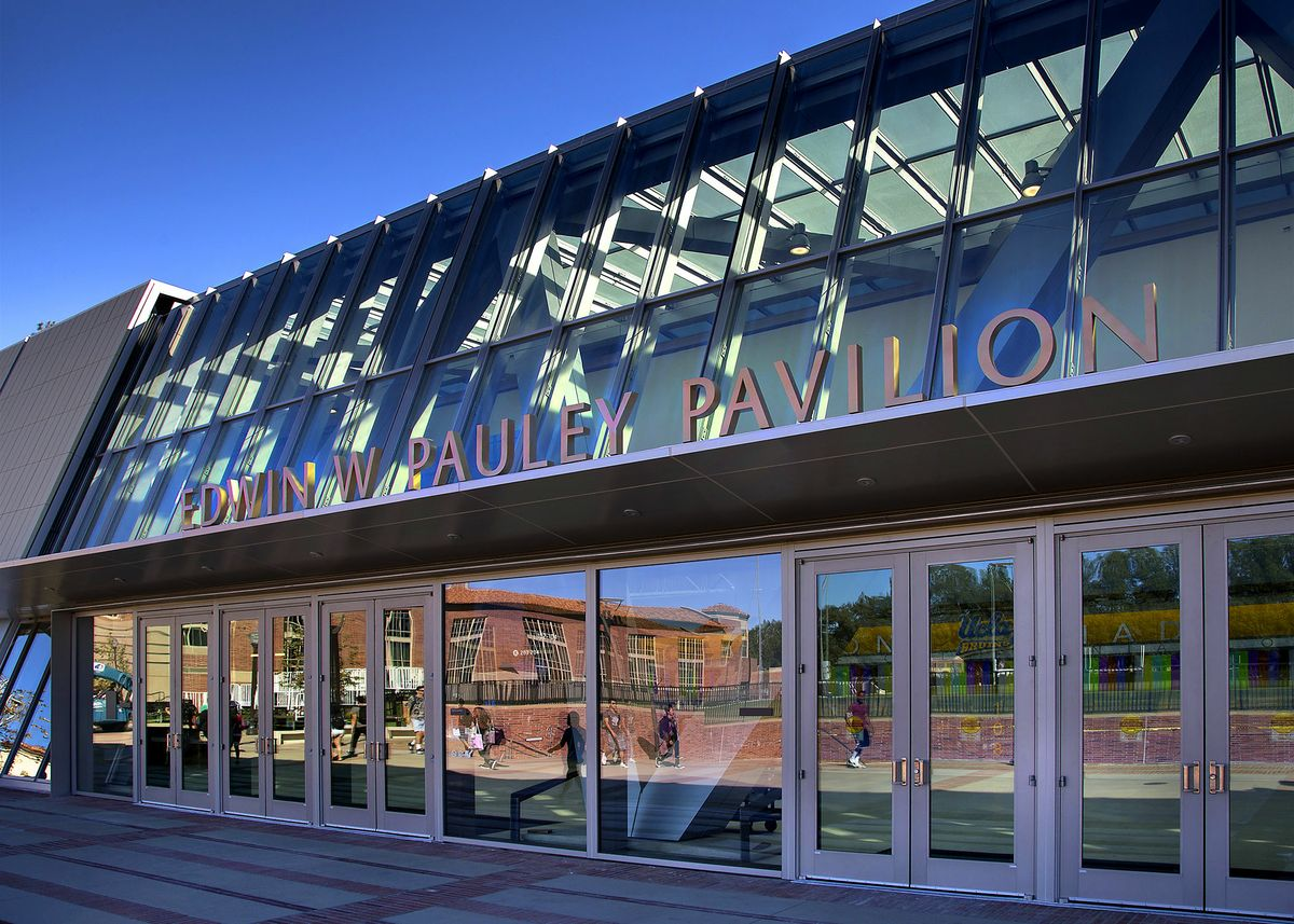 Pauley Pavilion, north entrance