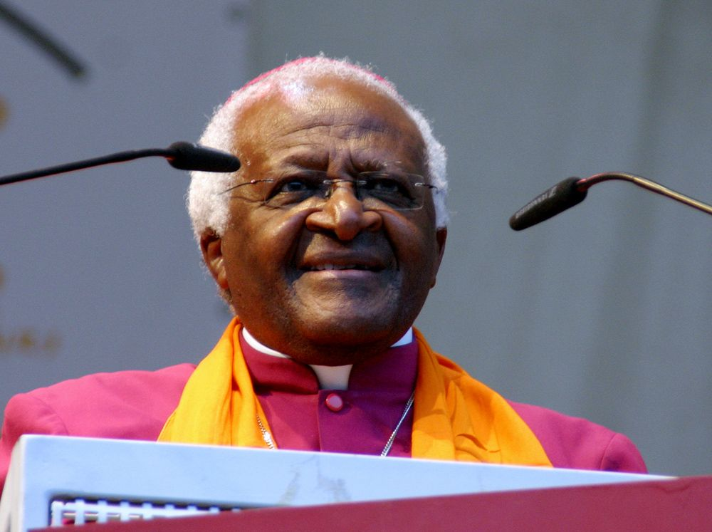 Desmond Tutu in 2007 in Cologne