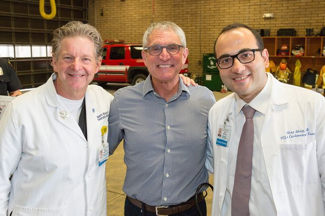 Dr. Mark Morocco, Charles Gold, Dr. Olcay Aksoy
