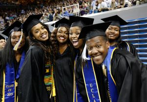 Commencement 2015 students