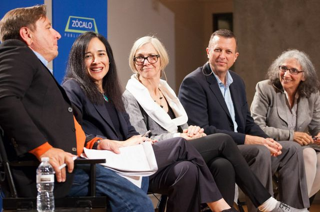 Panel at a UCLA-Zocalo discussion on gentrification