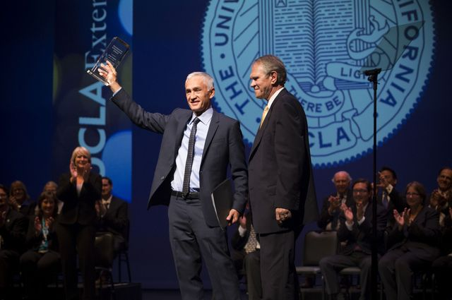 Jorge Ramos receives UCLA Extension's Professional Achievement Award