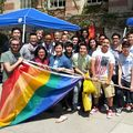 UCLA LGBT Resource Center students
