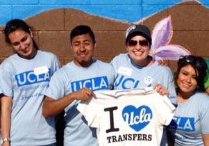 Transfer students at UCLA