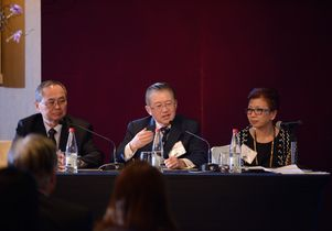 UCLA Global Forum panel in Hong Kong