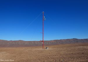 Chile site for telescope array