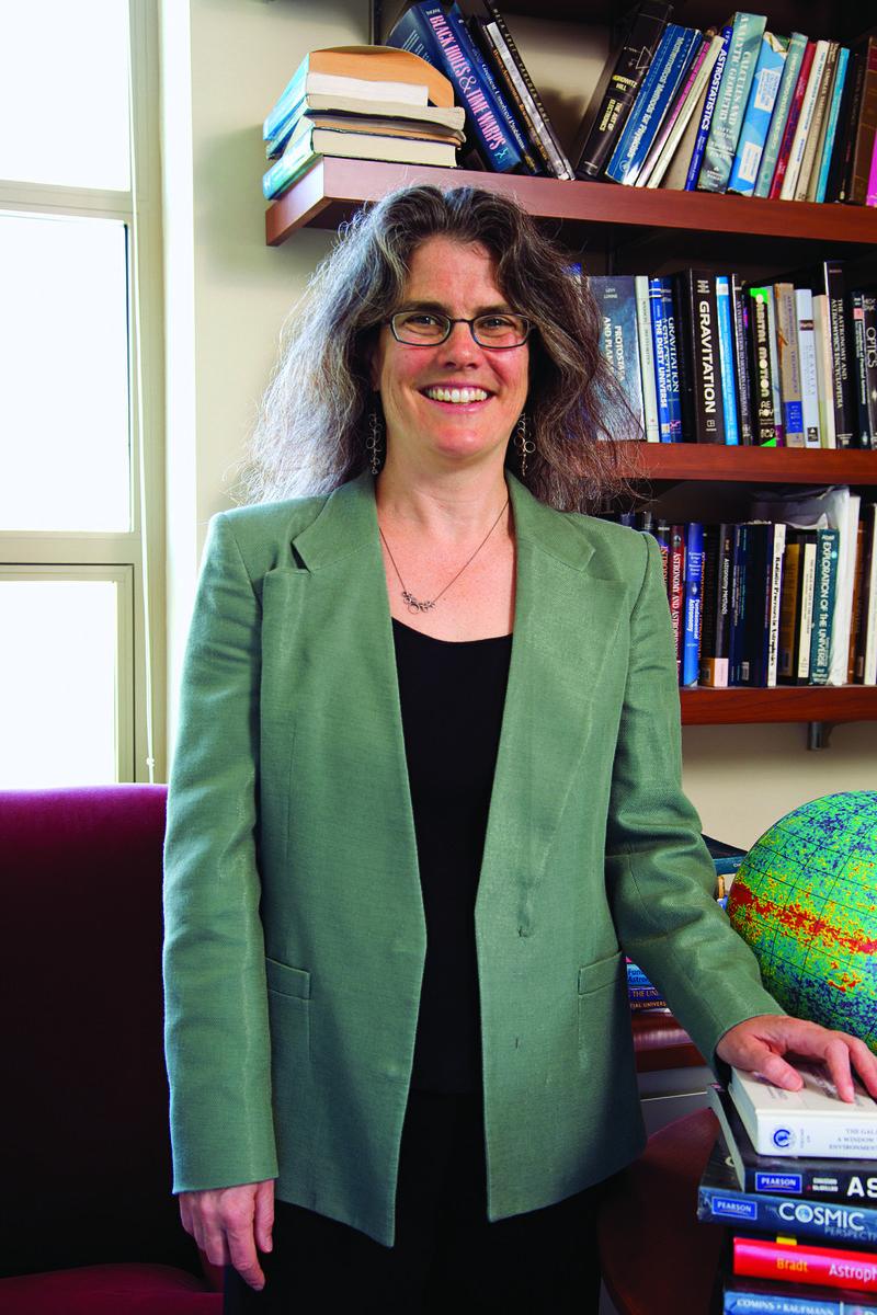 Andrea Ghez in her UCLA office