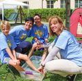 Kids at Camp Leg Power