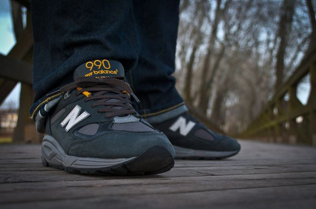 can you wash new balance 990