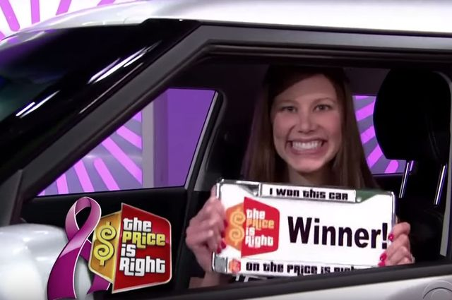 "Screen shot of ""The Price is Right"""