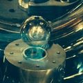 Vacuum chamber and aluminum sphere