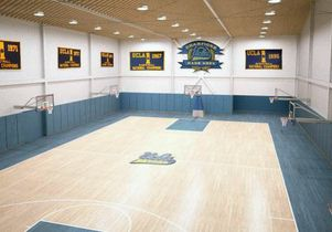 Interior of the Mo Ostin Basketball Center