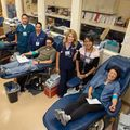 Staff at the UCLA Blood and Platelet Donation Center