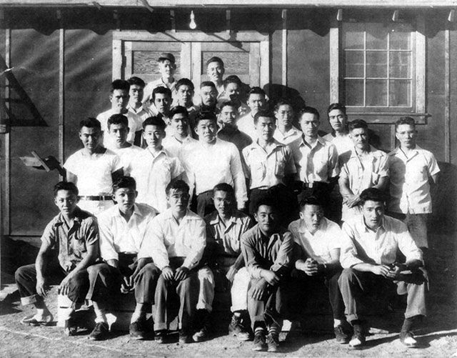 Block 42  in the Tule Lake camp
