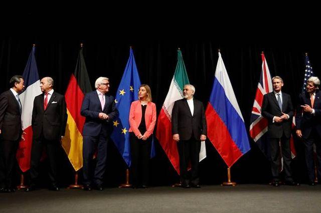 Negotiators on the U.S.-Iran nuclear deal