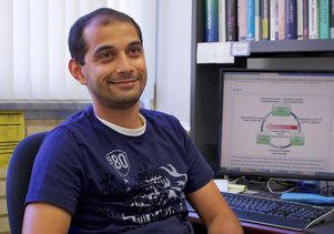 Gaurav Sant in office