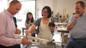 Steve Hamilton and artist Nova Jiang