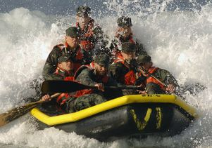 U.S. Navy basic underwater demolition SEAL training