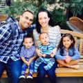 Tillman scholar Daniel Ybarra and his family