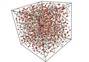 Atomic structure glass