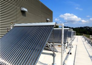 Solar water heating tubes