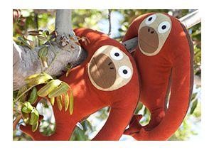 Indy Plush orangutans