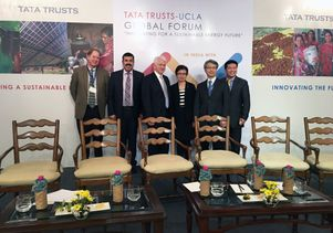 UCLA delegation to the UCLA Tata Global Forum
