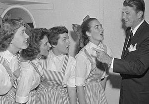 Ronald Reagan at Spring Sing