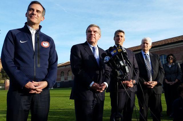 IOC Olympic visit