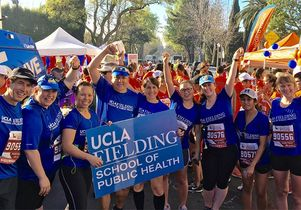 Fielding School LA Marathon team 2016
