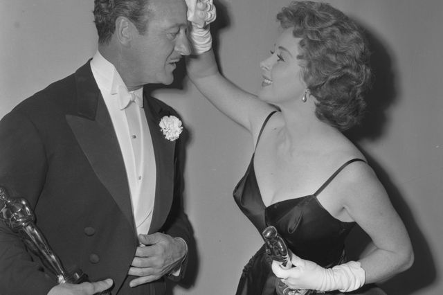 David Niven and Susan Hayward