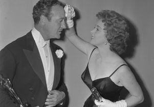 David Niven and Susan Hayward