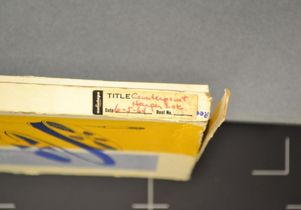 Box for tape of the Harper Lee interview