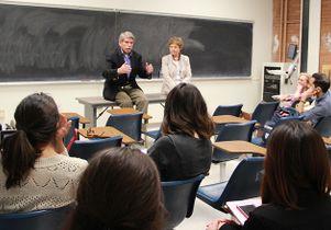 Zev Yaroslavsky in class