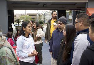 Graduate student Manjima Dhar